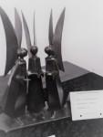 3ème prix à Souleymane Traore, sculpteur et fondeur de bronze